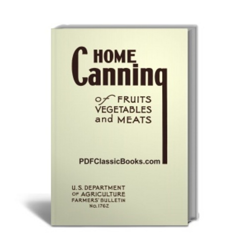 Product picture Home Canning of Fruits, Vegetables and Meats