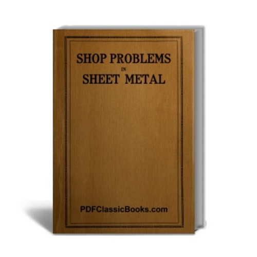 Product picture Shop Problems in Sheet Metal: Patterns and Instructions
